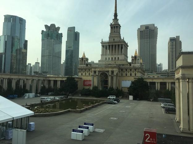 延安西路 旧ソ連大使館跡