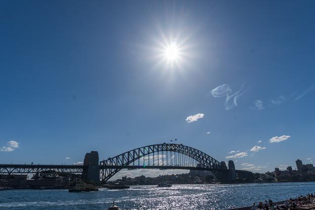 シドニー観光(ハーバーブリッジ)