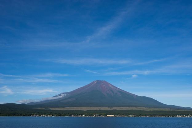 富士五湖巡り【山中湖:湖畔から】1