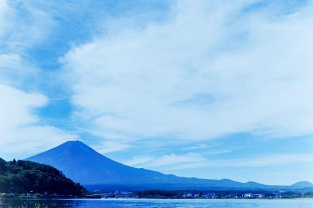 富士五湖巡り【河口湖から見る富士】3