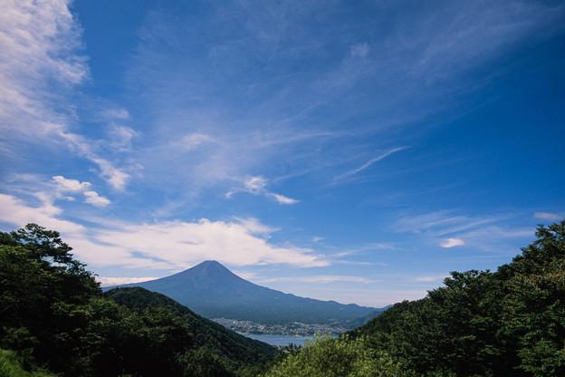 富士五湖巡り【峠の茶屋から見る富士】3