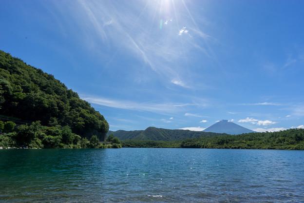 富士五湖巡り【西湖から見る富士】1