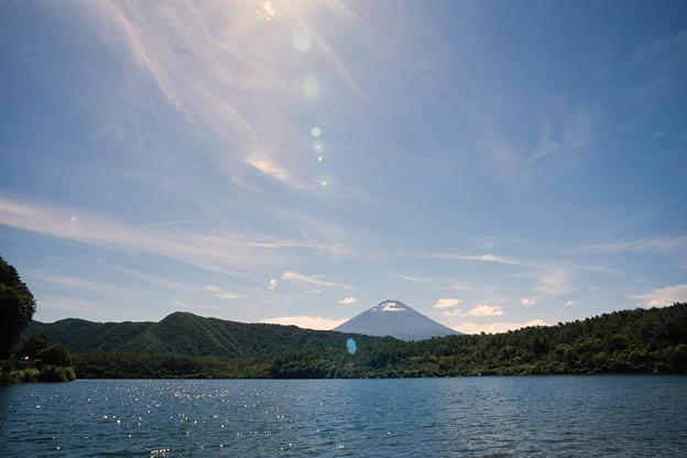 富士五湖巡り【西湖から見る富士】2