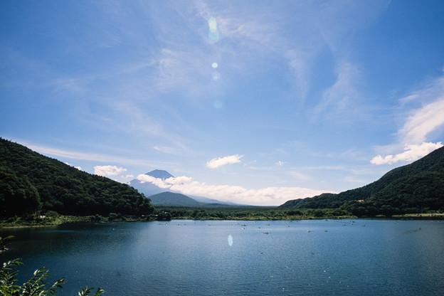 富士五湖巡り【精進湖から見る富士】1