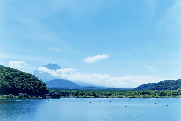 富士五湖巡り【精進湖から見る富士】3