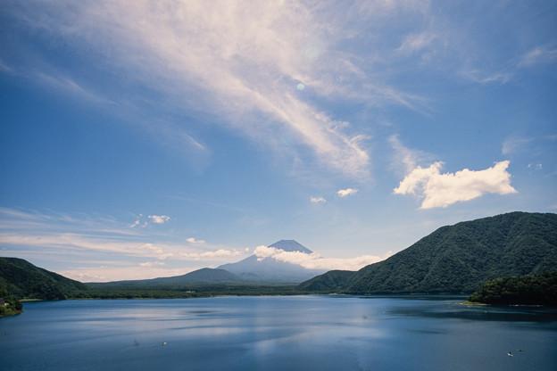 富士五湖巡り【本栖湖から見る富士】2