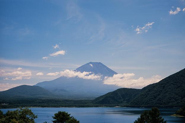 富士五湖巡り【本栖湖から見る富士】4