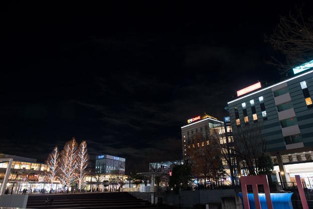港北東急の夜景【Ai Nikkor 24mm f2.8S:絞りf5.6】01