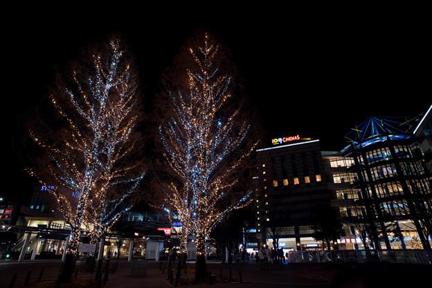 港北東急の夜景【Ai AF Nikkor 20mm f2.8:絞りf8.0】04