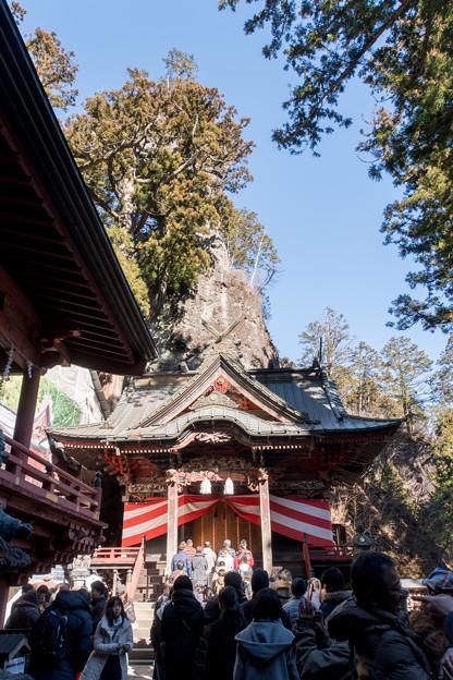 2019年初詣【榛名神社:本殿】