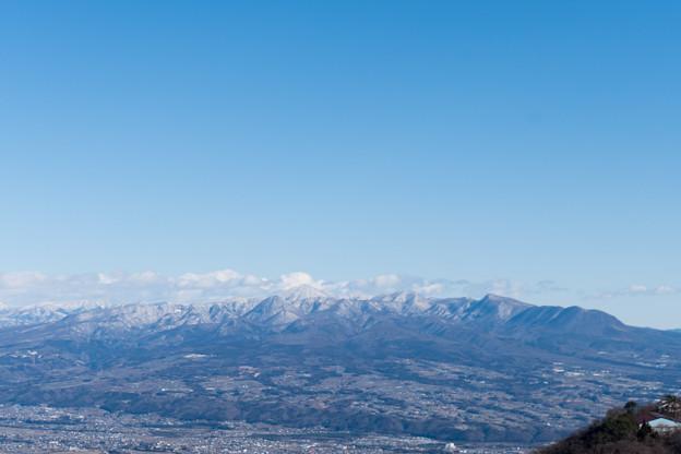 2019年初詣【榛名山から見る赤城山】