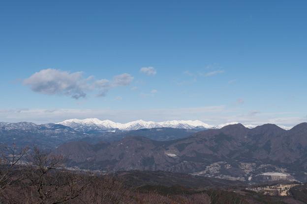 2019年初詣【榛名山から見る雪山(錫ケ岳など)】