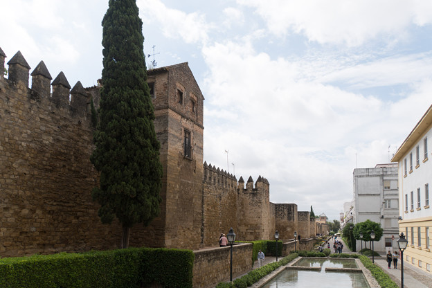 11_コルドバ_【街並み】ユダヤ人街を囲む壁