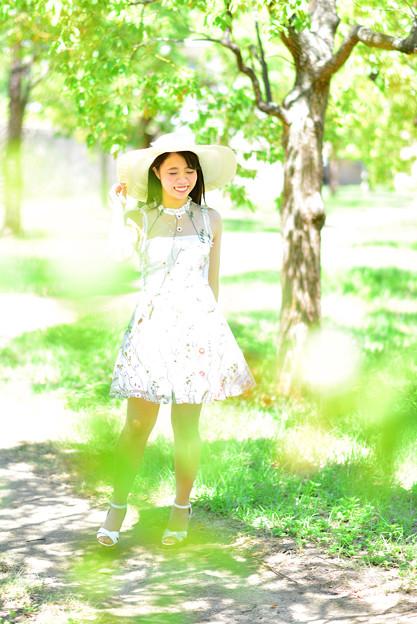 夏のお姫様