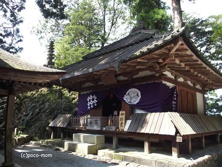 室生寺奥の院 太子堂P9210119
