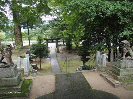 雷山雷神社 中宮 PA120378