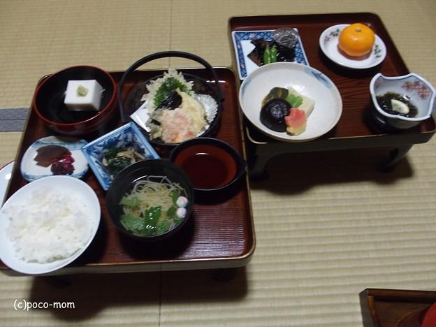 高野山 御室光台院の夕食
