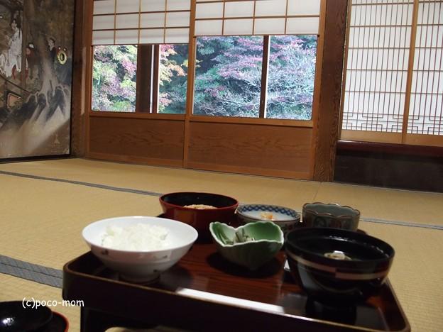 高野山光台院の朝食