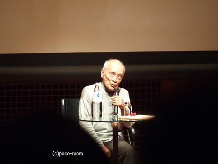 イタリア文化会館 「京」を語る谷川俊太郎 P4130006