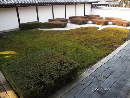 東福寺本坊 西庭 井田の庭P1110202