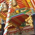 大崎八幡宮 拝殿 唐破風 P4290343