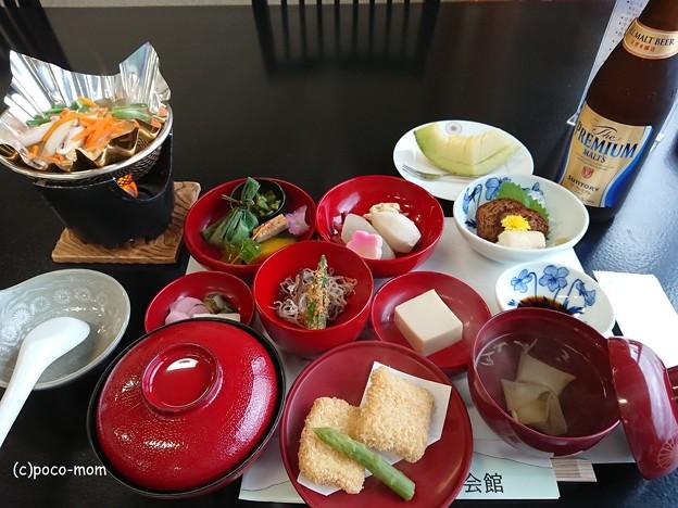 延暦寺会館 夕食 DSC_1504