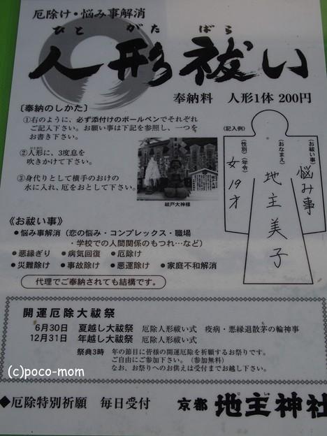 地主神社 PA140793人形祓い