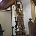 Photos: 知恩院勢至堂前のお堂のお仏像P4140137