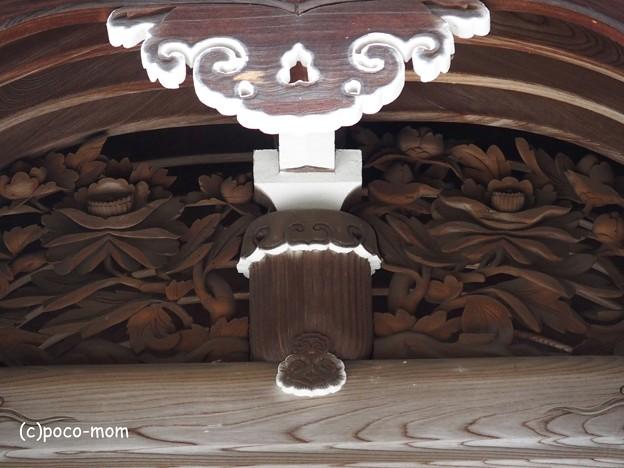 知恩院御廟の破風飾り P4140154