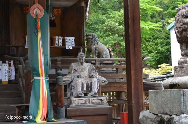 大津 三尾神社 随身(随神 )DSC_0018