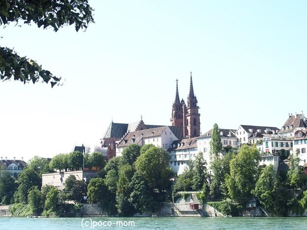 バーゼル 大聖堂とライン川 P1010076