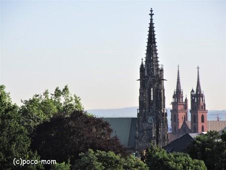 バーゼル大聖堂 尖塔 IMG_2575 (2)