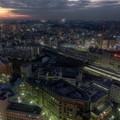 写真: 横浜スカイビルからの夜景