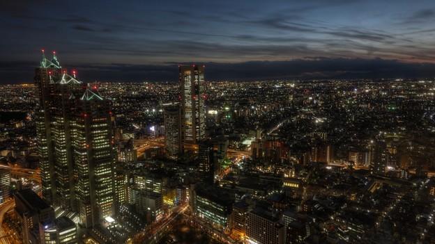都庁からのコンデジ夜景