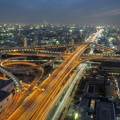 東大阪市役所からの夜景