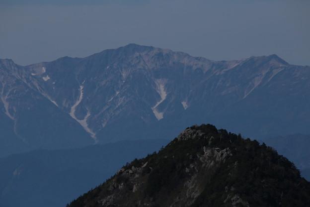 北アルプスと笠ヶ岳