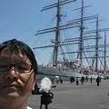 日本丸、24年ぶりの宮崎寄港24