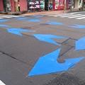 写真: 宮崎市、新たに中心市街地に自転車レーンを整備中5