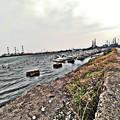 写真: 鹿島港