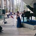 Photos: イベール作曲 アルトサクソフォーンとピアノのための室内小協奏曲 より第2楽章/本番