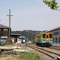 Photos: 矢島駅構内