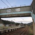 陣場駅 跨線橋