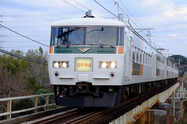 臨時快速 成田山初詣むさしの号 9824M