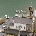 Photos: 海辺の教会