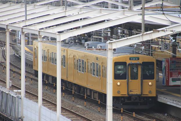 福山城より福山駅を望む