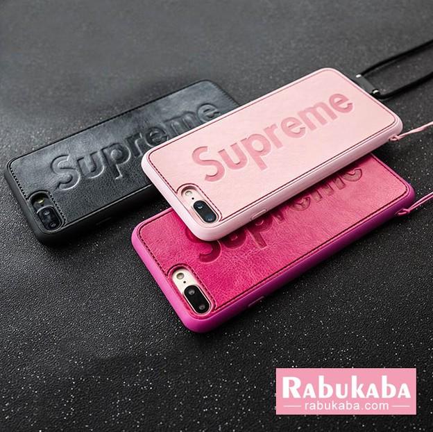 シュプリーム iphone8/7ケース カップル シリコン
