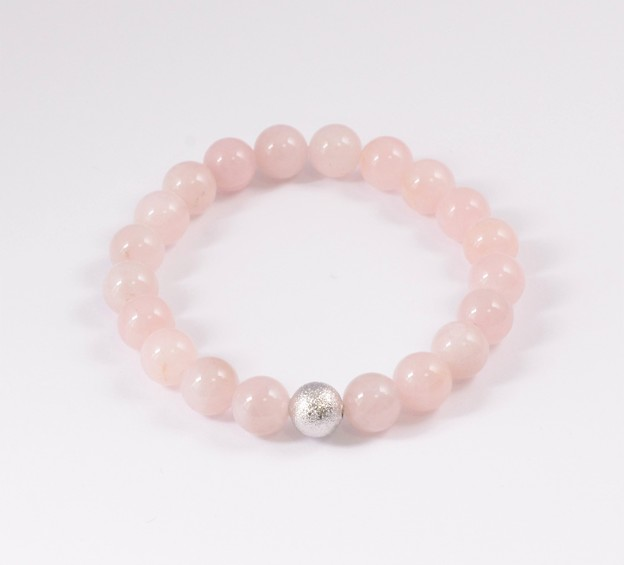 KSB881-Matte Rose Quartz(10MM)-Rose Quartz