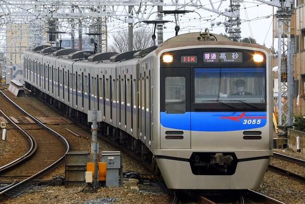 3050形3055F 普通KS10高砂(811K)