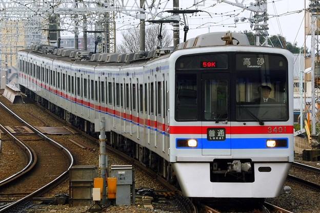 3400形3408F 普通KS10高砂(859K)
