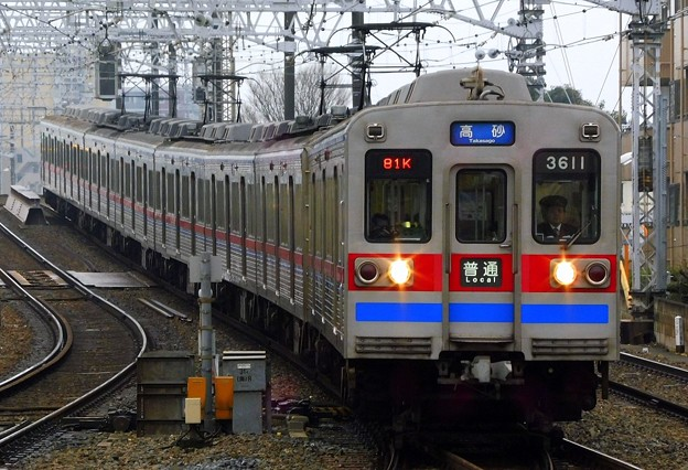 3600形3618F 普通KS10高砂(781K)